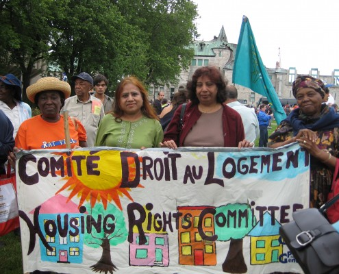 Membres du Comité droit au logement / Housing Rights Committee members