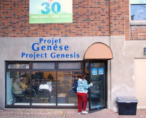 Extérieur du Storefront / Storefront exterior