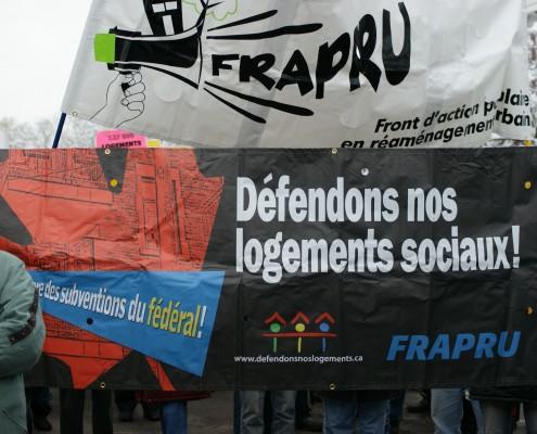 Défendons nos logements sociaux / Preserve social housing