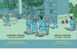Rapport Annuel 2013 / PG Annual Report 2013