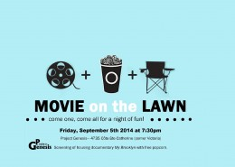 movie on the lawn