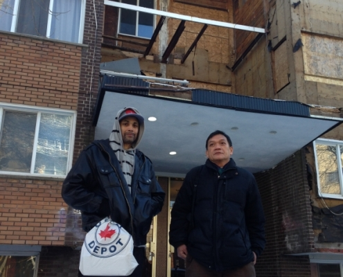 CJAD - CDN tenants forced out of apartments in winter