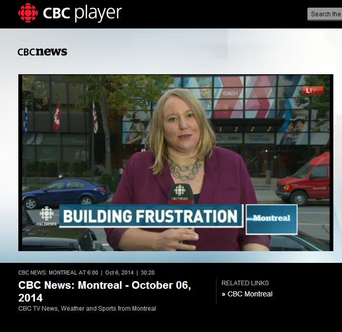 CBC News - Building Frustration