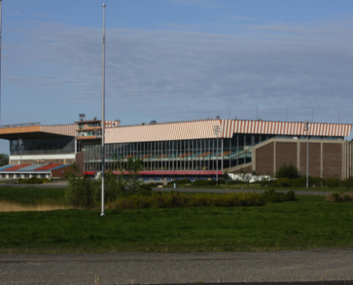 L'ancien Hippodrome de Montréal (Image: Yves Proverncher / Métro)