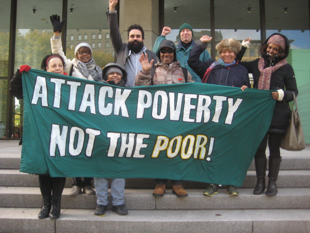 Attack poverty, not the poor