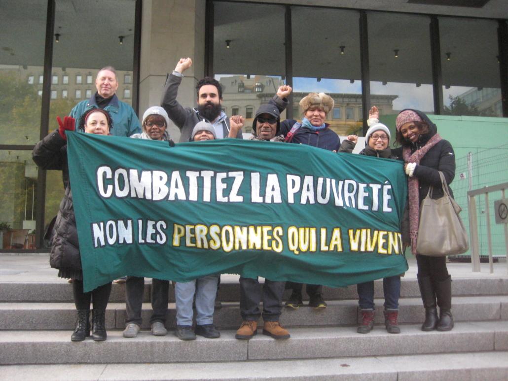 Combattez la pauvreté, non les personnes qui la vivent