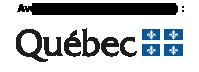 Avec la participation financiére de Québec